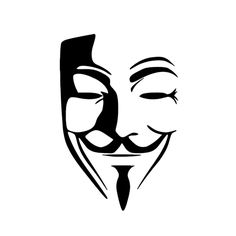 $2.99 (Buy here: http://appdeal.ru/75wu ) Anonymous Mask Vinyl Sticker JDM Decal Car Window Bumper Wall Door Van Window Guy Fawkes Graphic for just $2.99