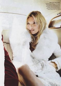 Kate Moss a touch of glam