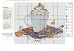 "Gallery.ru / Chocolate, схема - Журнал ""Point de Croix"" (Франция) - NataVosk"