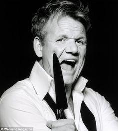 Chef Gordon Ramsay  ...such a softie!