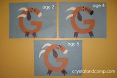 G is for Goat: A Letter of the Week Preschool Craft
