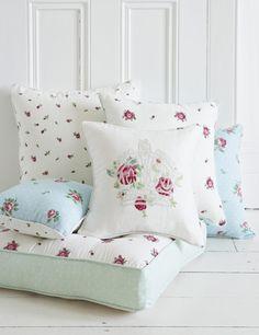 Royal Albert Cushions - perfect for a wedding gift!
