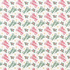 merry christmas cotton fabric