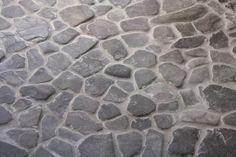 DIY stone floor