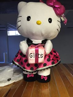 "Added ""gifts"" to this adorable Hello Kitty"