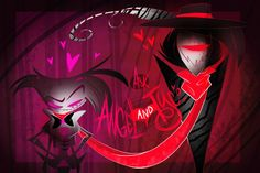 """The banner for Vivziepop's deleted """"Ask Angel and Tyco"""" blog on tumblr. #Zoophobia #Vivzmind"""