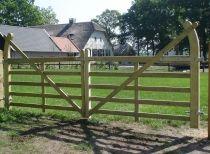 Houten Poorten, houten loopbruggen en wandelbruggen - Jaap de Vries Ermelo