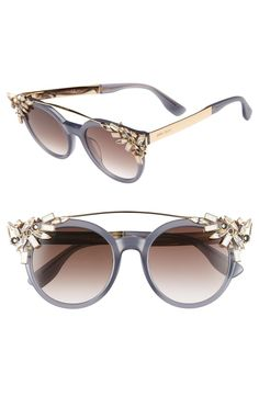 fb9fa22bdefa Jimmy Choo  Vivy  51mm Sunglasses