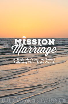 """One man's journey...detailing my """"mission"""" to become """"prepared"""" for the """"mission"""" that is marriage"""