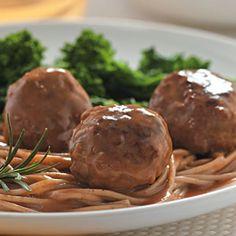 Lemon-Rosemary Turkey Meatballs   EatingWell Magazine