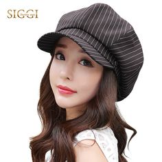 SIGGI Women Newsboy Hat visor Beret summer cap for Girls spring painter gavroche Vintage fashion 89333 #Siggi #Newsboy_Caps #women_clothing #stylish_Newsboy_Caps #style #fashion