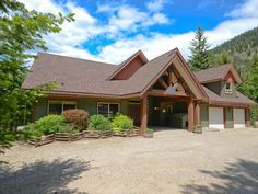 One of my favorite ,favorite properties, Congratulations to both the Buyers and Seller - 67 Shuswap River DR, Lumby, Hayley Brown CENTURY 21 Timber Roof, Timber Frame Homes, Commercial Real Estate, Investment Property, Beams, Luxury Homes, Gas Fireplaces, Open Frame, Vaulted Ceilings