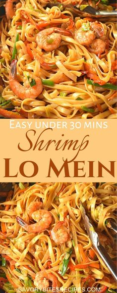 you love Chinese food takeout menu then this shrimp lo mein recipe is very easy to try next. The lo mein sauce is spicy ,quick to put together, which when mixed with veggies ,egg noodles and shrimp makes this amazing dinner dish under 30 mins! Best Chinese Food, Authentic Chinese Recipes, Chinese Chicken Recipes, Easy Chinese Recipes, Asian Recipes, Chinese Desserts, Seafood Recipes, Appetizer Recipes, Beef Recipes
