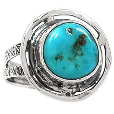 Sleeping Beauty Turquoise 925 Sterling Silver Ring Jewelry s.8 SR188230 | eBay