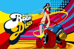 Attend or Host an old school 70's roller disco party