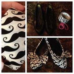 Duct tape shoes!?! Seriously?! LUV 4 mustaches