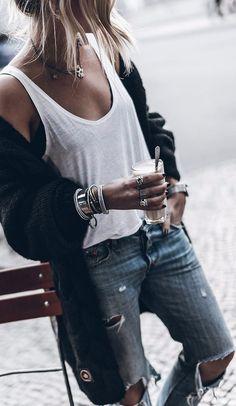 cozy outfit details