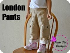 London Pants for Boys and Girls 12m-8Y | YouCanMakeThis.com