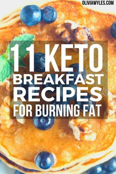 These 11 Easy Low Carb, Keto Breakfasts are the perfect way to start your morning on the right foot! These healthy, gluten free, and easy low carb meals that include pancakes, keto coffee, chaffles, flaxseed muffins, and lots of other fun ideas. You will love these keto breakfasts for your ketogenic diet. These are the best keto friendly breakfasts that will help you lose weight and stay in ketosis. #OliviaWyles #Keto | Olivia Wyles | Keto Lifestyle Guide | Low Carb Recipes