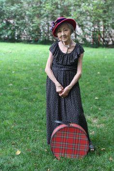 ADVANCED STYLE: 80 Year Old Designer Miyano Haraki