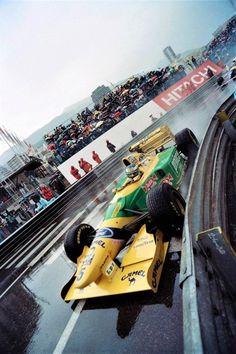 #5 Michael Schumacher...Camel Benetton Ford...Benetton B193B...Motor Ford Cosworth HB V8 3.5...GP Monaco 1993