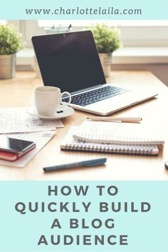 How to Quickly Build a Blog Audience  Charlotte Laila