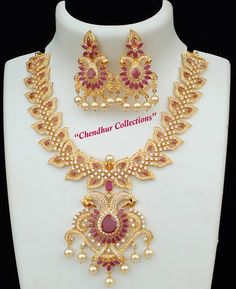 Price details How do buy the items Gold Jewellery Design, Gold Jewelry, Jewelery, India Jewelry, Jewelry Patterns, Necklace Designs, Wedding Jewelry, Bvlgari, Hair Cuts
