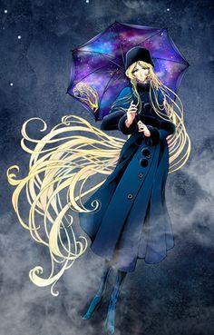 Japanese Animated Movies, Japanese Cartoon, Manga Art, Anime Manga, Anime Art, Galaxy Express, Fanart, China Girl, Geek Art