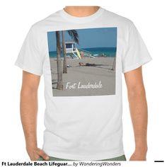Ft Lauderdale Beach Lifeguard Stand T-shirts (x2)