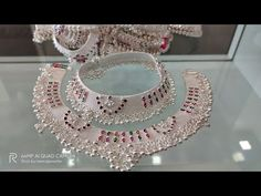 Jewelry Design Earrings, Necklace Designs, Gold Jewelry, Jewelery, Gold Necklace, Silver Anklets Designs, Anklet Designs, Indian Jewellery Design, Indian Jewelry