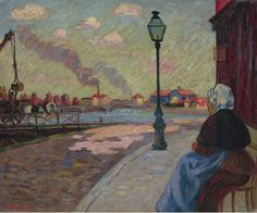 https://flic.kr/p/PEvTSf | Armand Guillaumin - The Seine at Charenton [1875] | Armand Guillaumin (Paris, February 16, 1841 – Orly, June 26, 1927) was a French Impressionist painter and lithographer. Guillaumin exhibited at the Salon des Refuses in 1863 and later became a friend of Vincent van Gogh whose brother, Theo sold some of his works. Noted for their intense colours, Guillamin's paintings are represented in major museums around the world.  [Private Collection - Oil on canvas, 50 x…