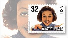 US Stamp - Legends of American Music Series Lyricist Dorothy Fields
