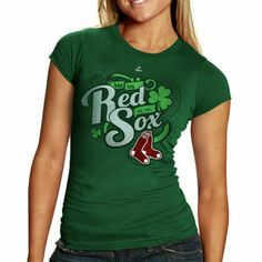 Boston Red Sox Loving My Luck T-Shirt - Green