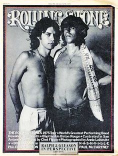 Mick And Keith By Annie Leibovitz RollsThe Rolling Stones