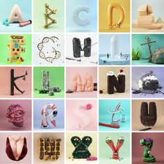 Z-Alphabet on Behance