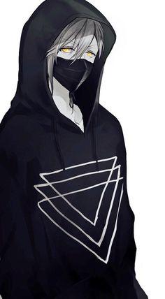 Anime Boy With Mask And Hoodie : anime, hoodie, Hoodie, Ideas, Anime, Drawings,, Characters,, Kawaii