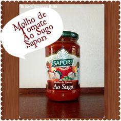 Espaço Sempre Bella: #Resenha - Molho de Tomate Ao Sugo - Sapori Alimen...