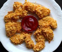 domowe nuggetsy dietetyczne