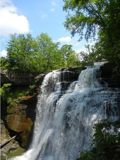 cuyahoga valley national park | Visit Brandywine Falls. Cuyahoga Valley National Park