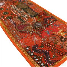 72 Runner India Wall Hanging Tapestry Ethnic Decorative Antique Vintage Decor |
