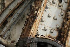 Rusted Iron Bridge Truss