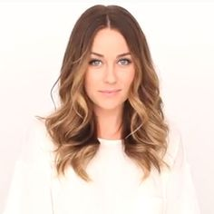 Lauren Conrad with dark blonde base, caramel highlights