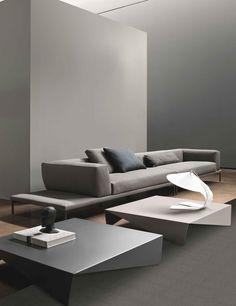 Bonaldo added a new photo. Beautiful Sofas, Living Spaces, Living Room, Elle Decor, Type 1, Kitchens, Interiors, Facebook, Furniture