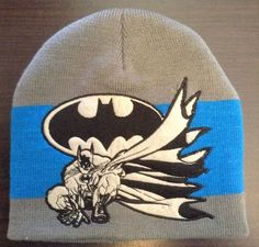 Boys Batman Beanie Size 12-16