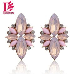 Opal Stone Stud Earrings 2015 New Elegant Crystal Earrings For Women Trendy Gold Plated Women Earrings♦️ SMS - F A S H I O N 💢👉🏿 http://www.sms.hr/products/opal-stone-stud-earrings-2015-new-elegant-crystal-earrings-for-women-trendy-gold-plated-women-earrings/ US $0.89
