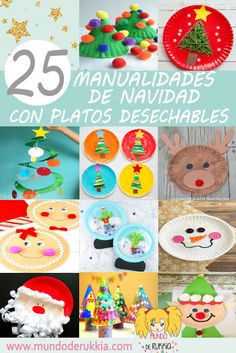 Paper Plate Crafts for Christmas 21 Paper Plate Crafts for Christmas, The best Christmas Paper P Christmas Paper Plates, Christmas Crafts For Kids, Christmas Activities, Craft Activities, Preschool Crafts, Holiday Crafts, Christmas Themes, Preschool Christmas, Winter Activities