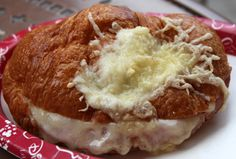 Ham and Cheese Croissant in Epcot