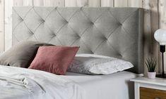 Cabeceros de cama tapizados en tela modelos Oslo o Milan Modern Headboard, Headboards For Beds, Luxury Furniture, Furniture Decor, Living Room Decor, Bedroom Decor, Bedroom Bed Design, Teenage Room, Fancy Houses