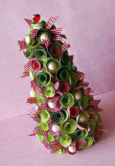 Studio Mirabeel: Święta tuż tuż... tree tutorial
