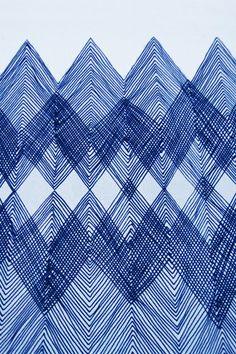 Inspiratiebeeld Colours and Textures/Kleuren en Texturen Line Patterns, Pretty Patterns, Graphic Patterns, Textile Patterns, Color Patterns, Chevron Patterns, Art Patterns, Pattern Art, Pattern Design